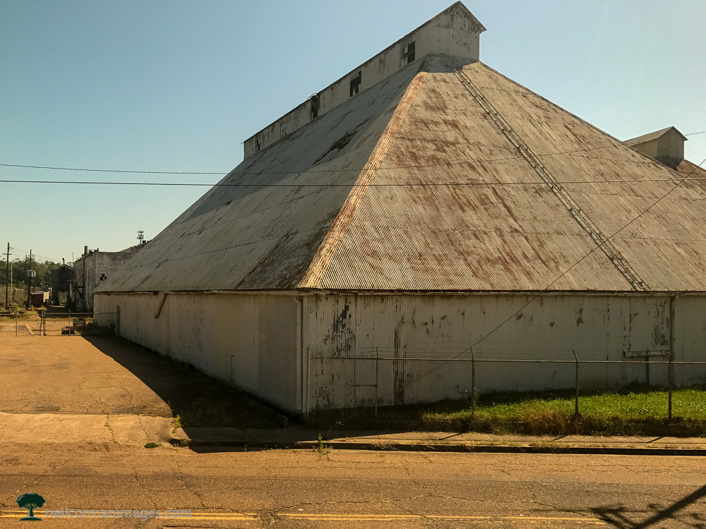 Shed on the City of New Orleans