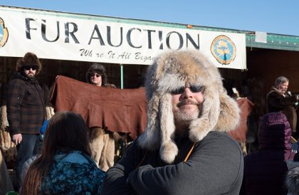 Fur Rondy Fur Auction in Anchorage