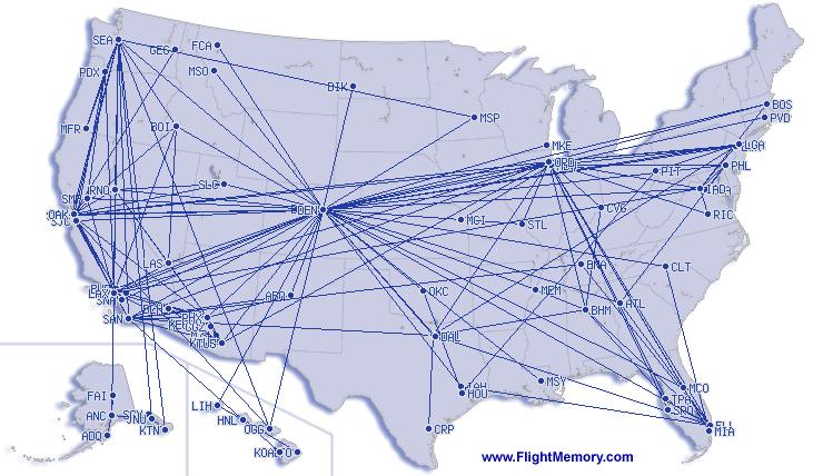 Flight Memory 2017 - USA